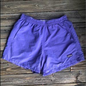 Patagonia Purple Shorts Baggies XS